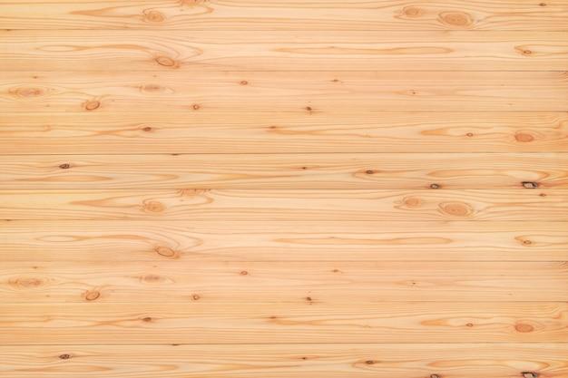 赤いパインウッドの風合いのトップビュー、自然の背景のための木。