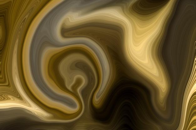 Роскошный золотой жидкий мраморный фон