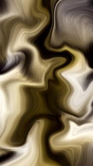 高級ゴールデン液体大理石の背景
