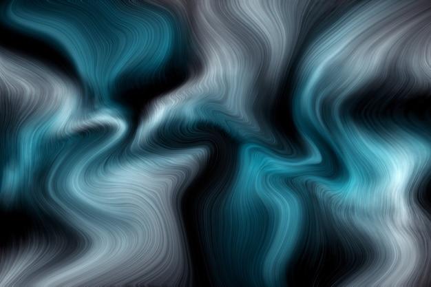 豪華な青い液体大理石の背景