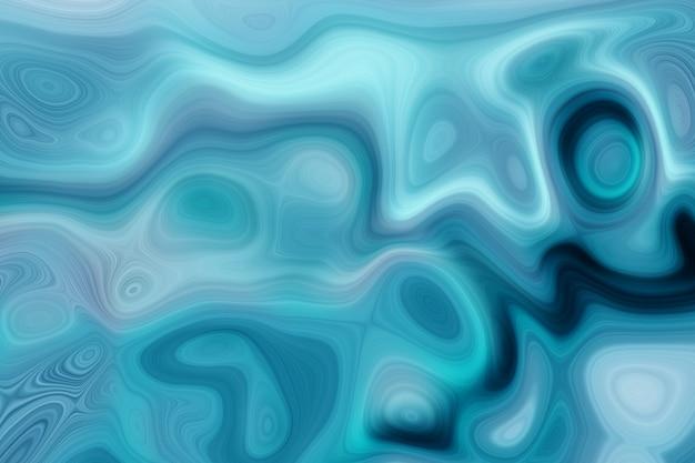 深い青色の液体大理石の背景