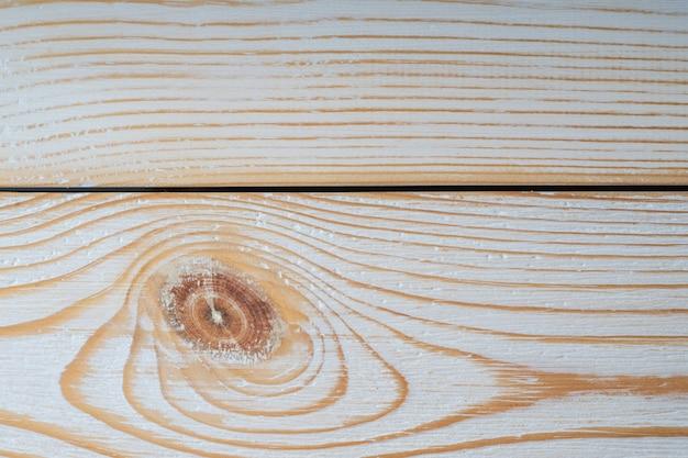 ライトウッドの風合い。堅い板の表面。