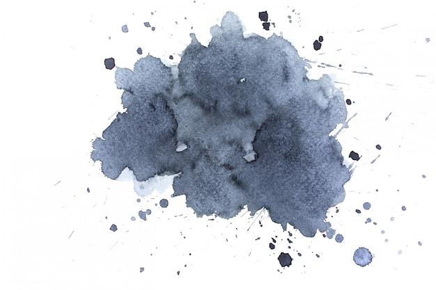 水彩画の汚れ。