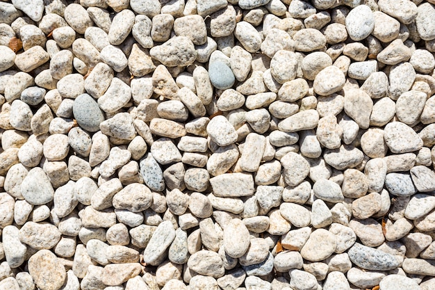 石の小石のテクスチャの背景