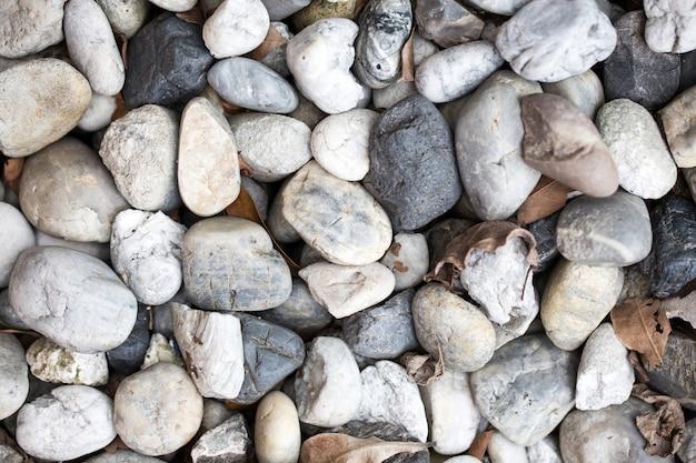 石の小石のテクスチャ背景