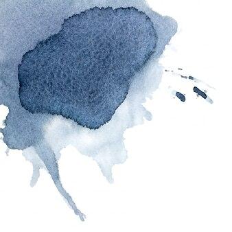 グレーの水彩画。