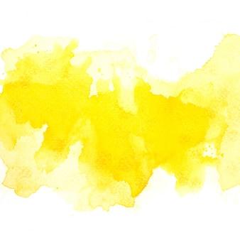 黄色の水彩画