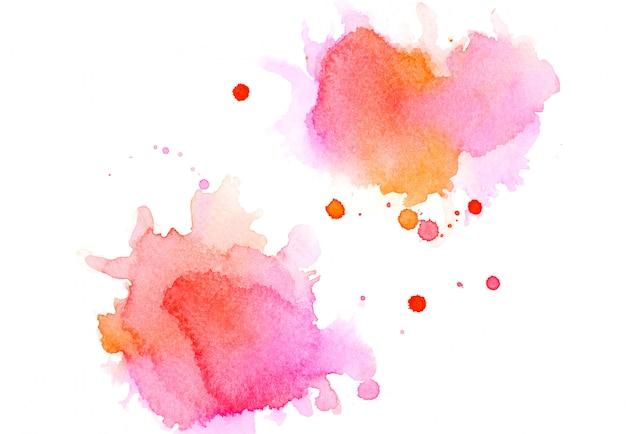 Цвет розовый акварель. изображение