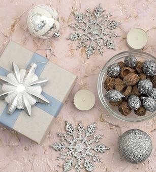クリスマス組成装飾