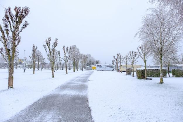 После снежного дня