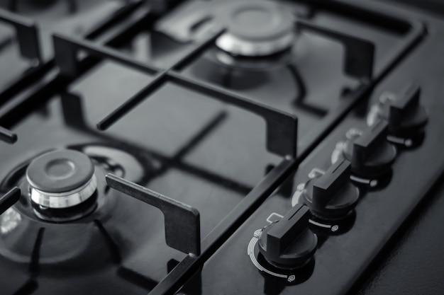 Панель управления газовой плитой
