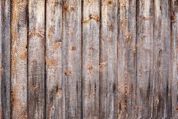 古い木材のテクスチャ。暗いグランジ木製の板
