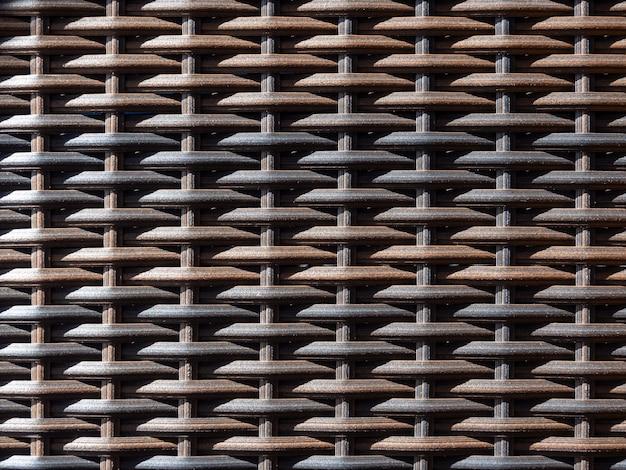 Традиционный плетеный узор текстуры поверхности