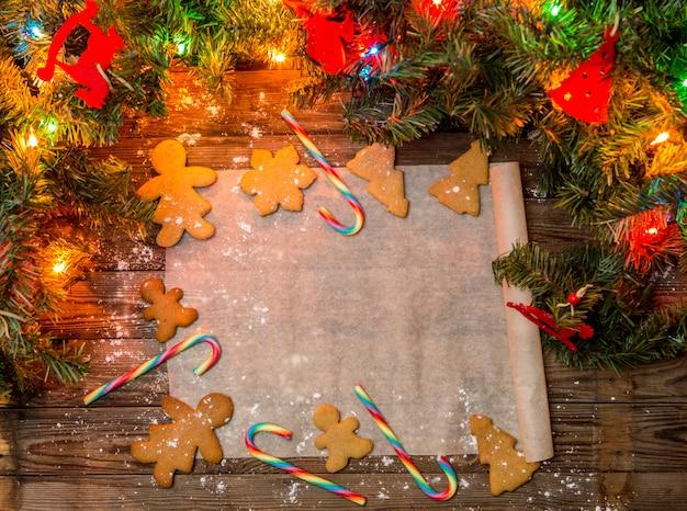 ジンジャーブレッドクッキー、お祝いのお菓子