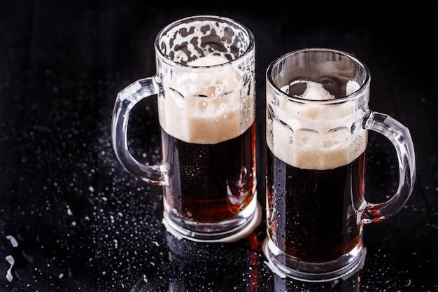 Кружки пива