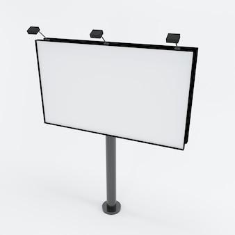 Рекламный щит для рекламы