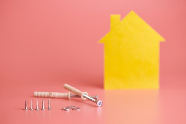 家の修理と改装されたコンセプト