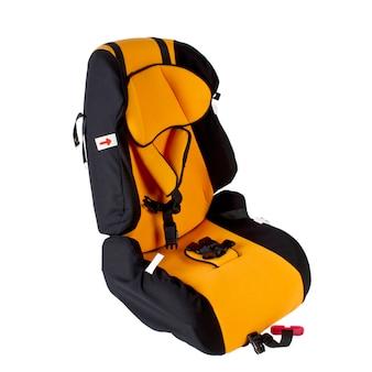 孤立した子供のための安全車の座席。