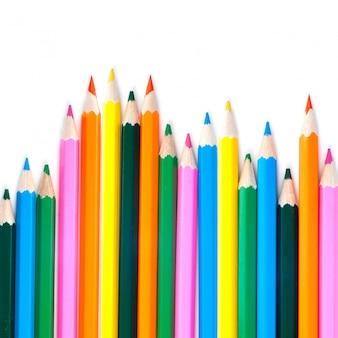 白影と色鉛筆の品揃え