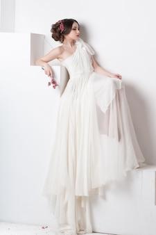 Портрет красивой невесты.