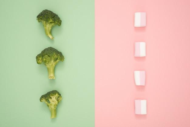健康的なライフスタイルはすべて選択について