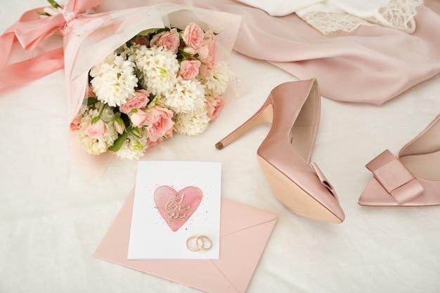 За час до свадебной церемонии