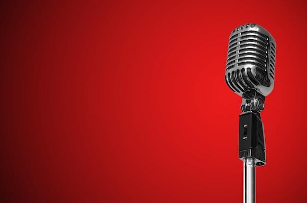 Старинный микрофон