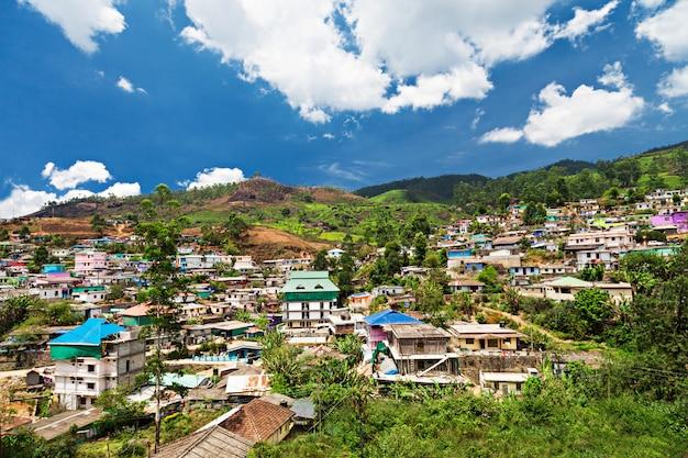 ムンナール町の風景