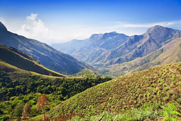 タミルナードゥ州の山々