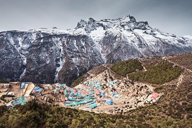 ナムチェバザール、ネパール