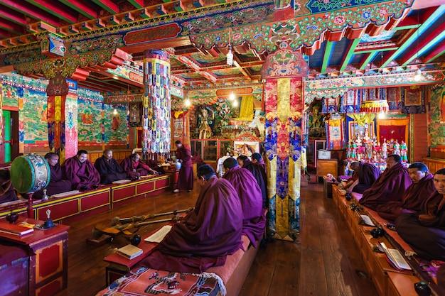 ネパールのテンボチェ修道院