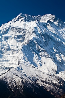 アンナプルナ山、ヒマラヤ