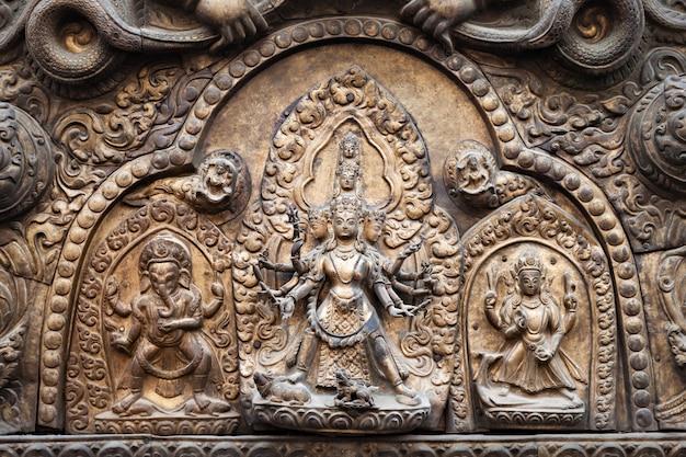 ヒンズー教の寺院の装飾