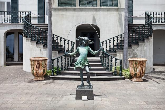 モンテパレスの彫刻