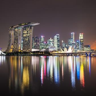 Горизонт города сингапур