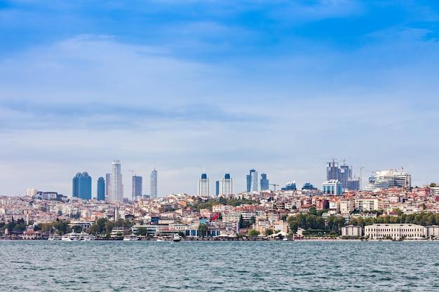 イスタンブールのスカイライン
