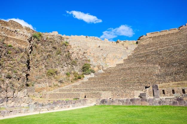 Руины ольянтайтамбо