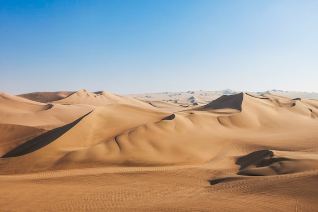 ワカチナ砂漠の砂丘