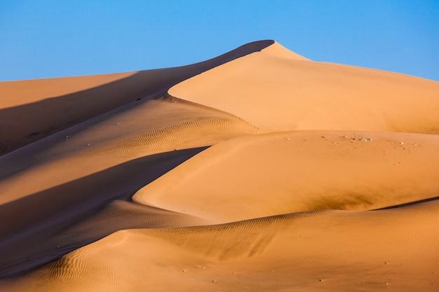 Дюны пустыни уакачина
