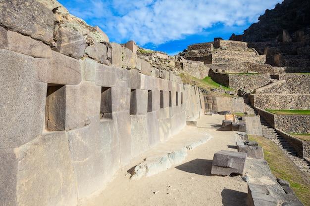 Руины ольянтайтамбо в перу