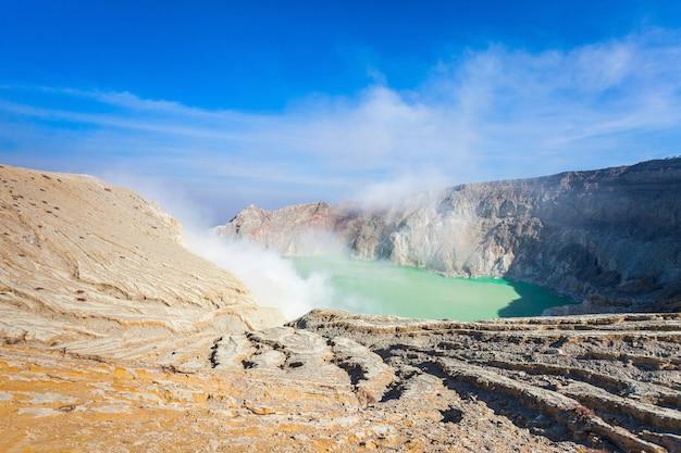 伊ジェン火山