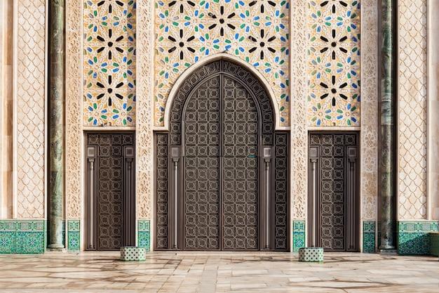 ハッサンモスクの建築