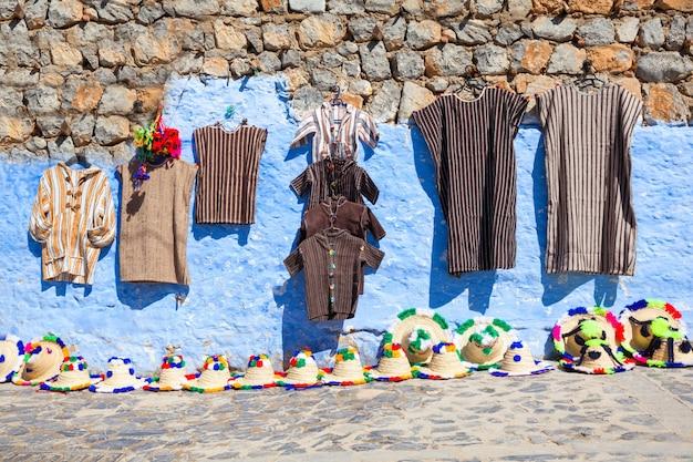 伝統的なモロッコの織物