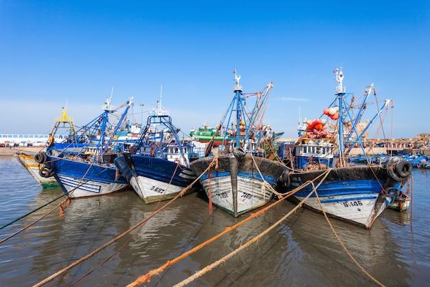 エッサウィラの漁船