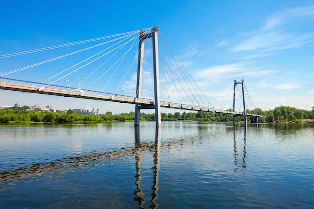 Виноградовский мост в красноярске