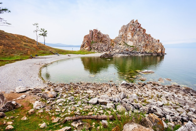 シベリアのバイカル湖