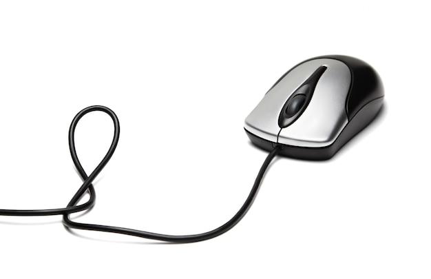 Компьютерная мышь изолирована