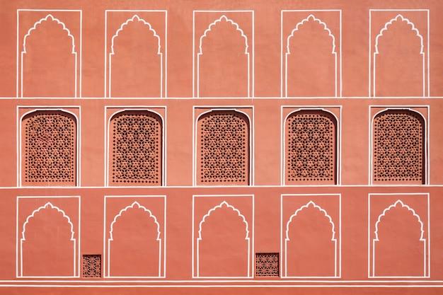 宮殿、ジャイプールのパターン