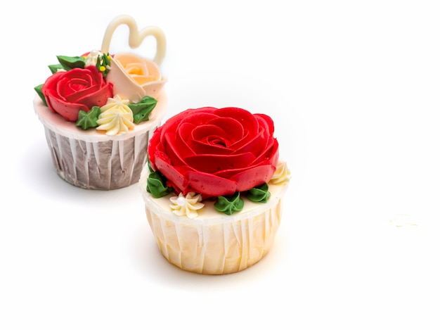 Кекс розы
