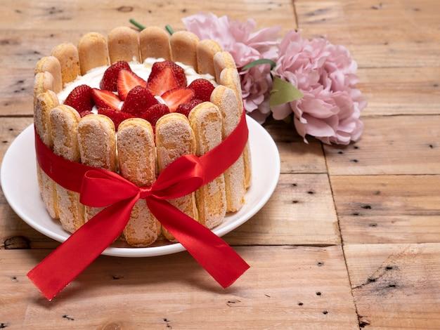 Клубничный божий пирог